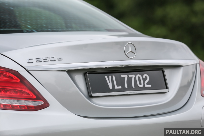 DRIVEN: W205 Mercedes-Benz C350e plug-in hybrid – going it clean and green in this electric machine Image #631928