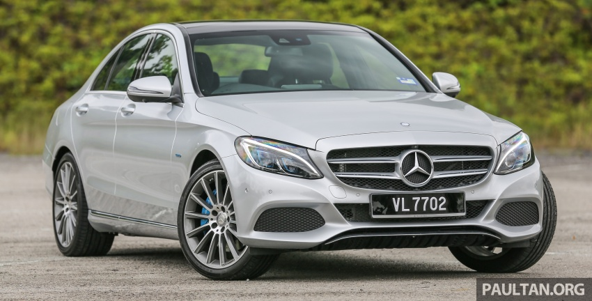 DRIVEN: W205 Mercedes-Benz C350e plug-in hybrid – going it clean and green in this electric machine Image #631961