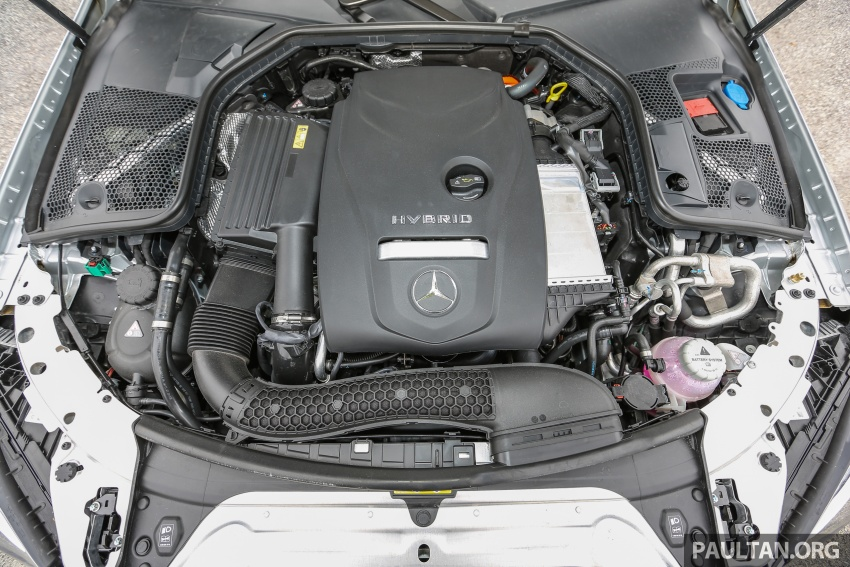 DRIVEN: W205 Mercedes-Benz C350e plug-in hybrid – going it clean and green in this electric machine Image #631918