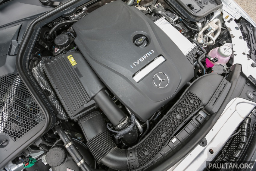 DRIVEN: W205 Mercedes-Benz C350e plug-in hybrid – going it clean and green in this electric machine Image #631919