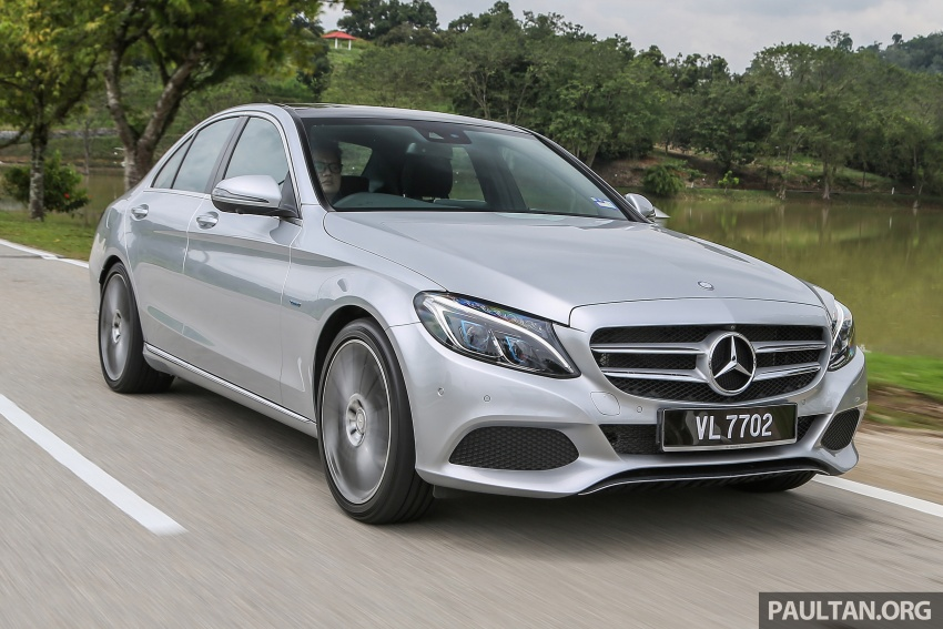 DRIVEN: W205 Mercedes-Benz C350e plug-in hybrid – going it clean and green in this electric machine Image #631922