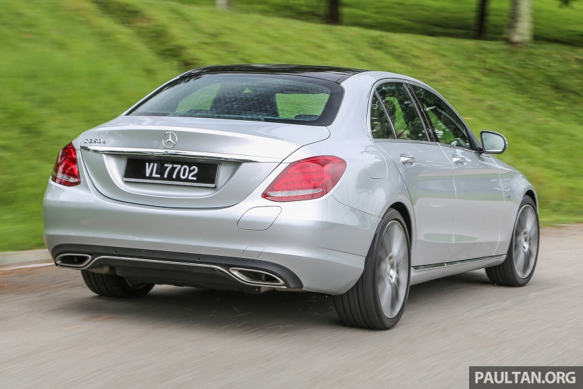 DRIVEN: W205 Mercedes-Benz C350e plug-in hybrid – going it clean and green in this electric machine Image #631923
