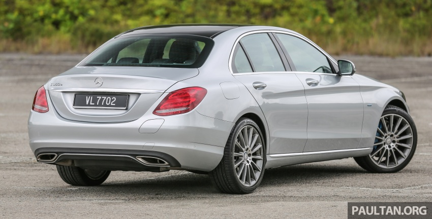 DRIVEN: W205 Mercedes-Benz C350e plug-in hybrid – going it clean and green in this electric machine Image #631960
