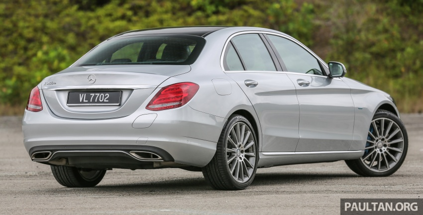 DRIVEN: W205 Mercedes-Benz C350e plug-in hybrid – going it clean and green in this electric machine Image #631959