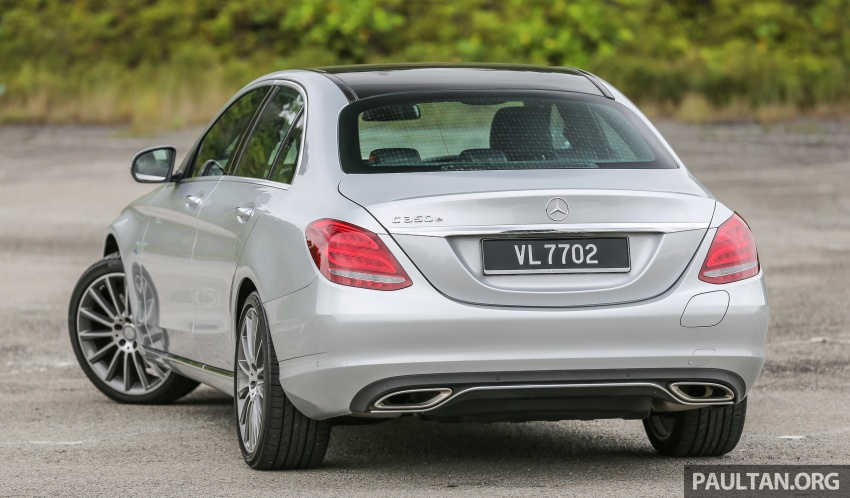 DRIVEN: W205 Mercedes-Benz C350e plug-in hybrid – going it clean and green in this electric machine Image #631958