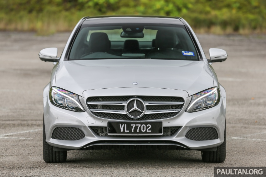 DRIVEN: W205 Mercedes-Benz C350e plug-in hybrid – going it clean and green in this electric machine Image #631956