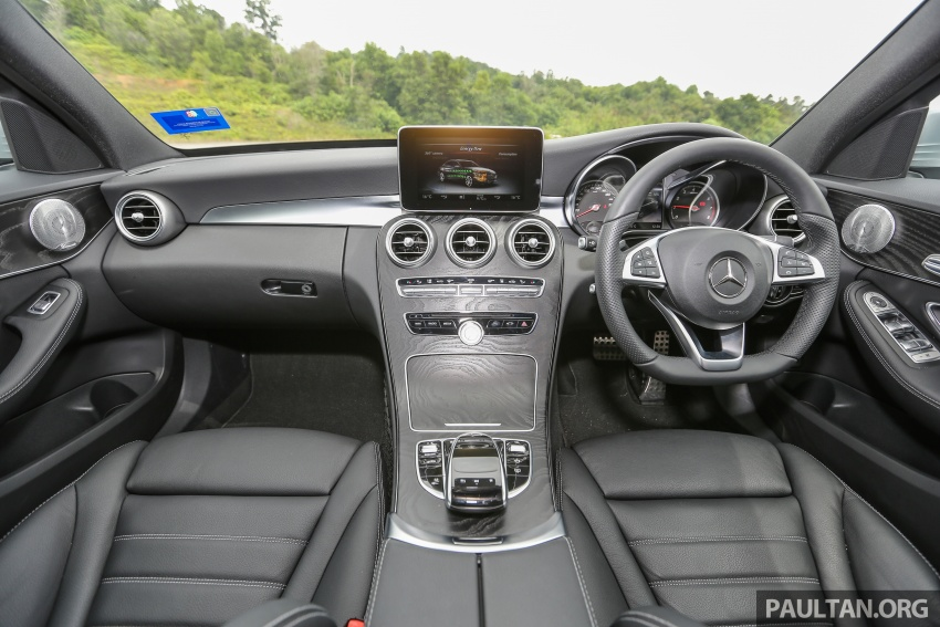 DRIVEN: W205 Mercedes-Benz C350e plug-in hybrid – going it clean and green in this electric machine Image #631868