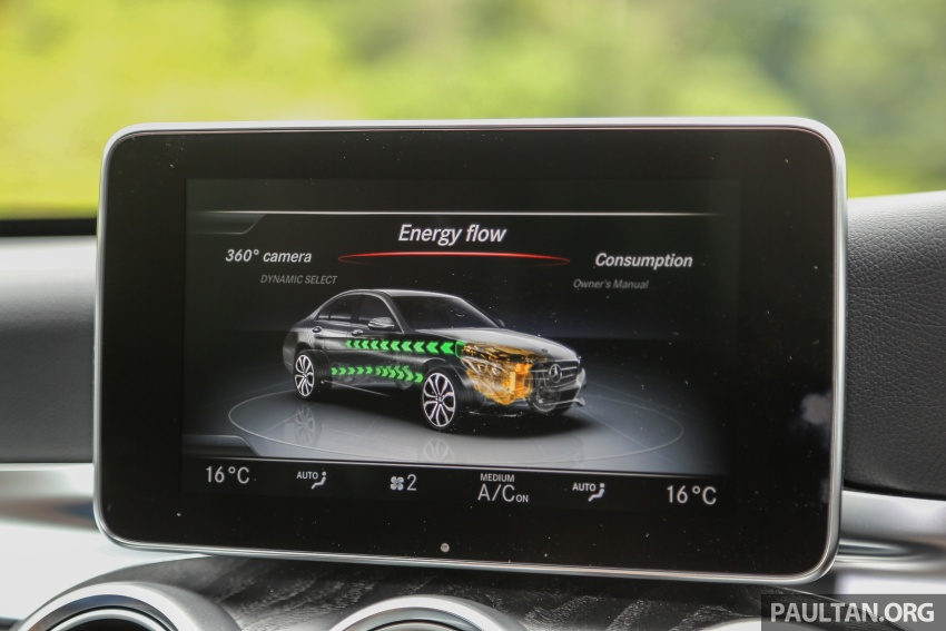 DRIVEN: W205 Mercedes-Benz C350e plug-in hybrid – going it clean and green in this electric machine Image #631887