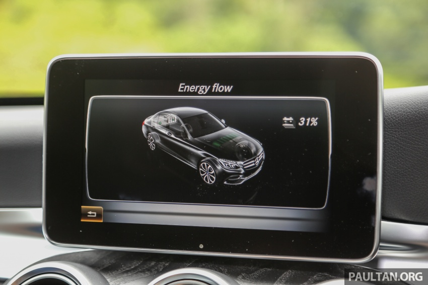 DRIVEN: W205 Mercedes-Benz C350e plug-in hybrid – going it clean and green in this electric machine Image #631888