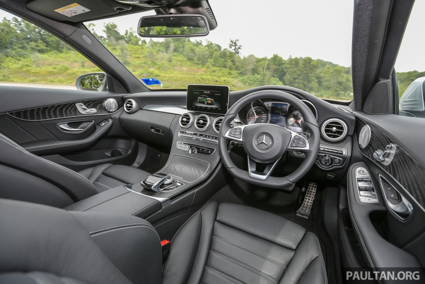 DRIVEN: W205 Mercedes-Benz C350e plug-in hybrid – going it clean and green in this electric machine Image #631910