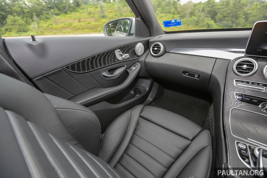 DRIVEN: W205 Mercedes-Benz C350e plug-in hybrid – going it clean and green in this electric machine Image #631912