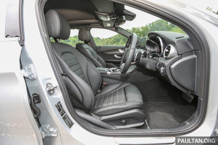 DRIVEN: W205 Mercedes-Benz C350e plug-in hybrid – going it clean and green in this electric machine Image #631913