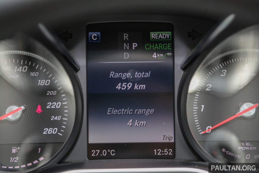 DRIVEN: W205 Mercedes-Benz C350e plug-in hybrid – going it clean and green in this electric machine Image #631873