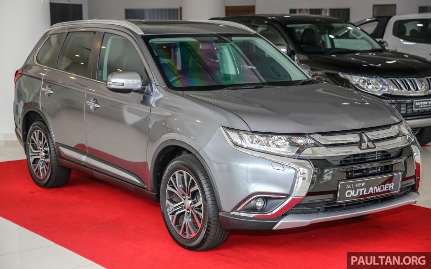 Mitsubishi Motors Malaysia memperkenalkan Outlander 2017 yang dipertingkatkan – RM171k Image #624910
