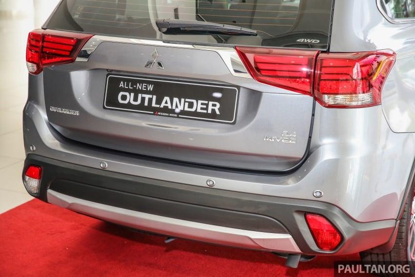 Mitsubishi Motors Malaysia memperkenalkan Outlander 2017 yang dipertingkatkan – RM171k Image #624931