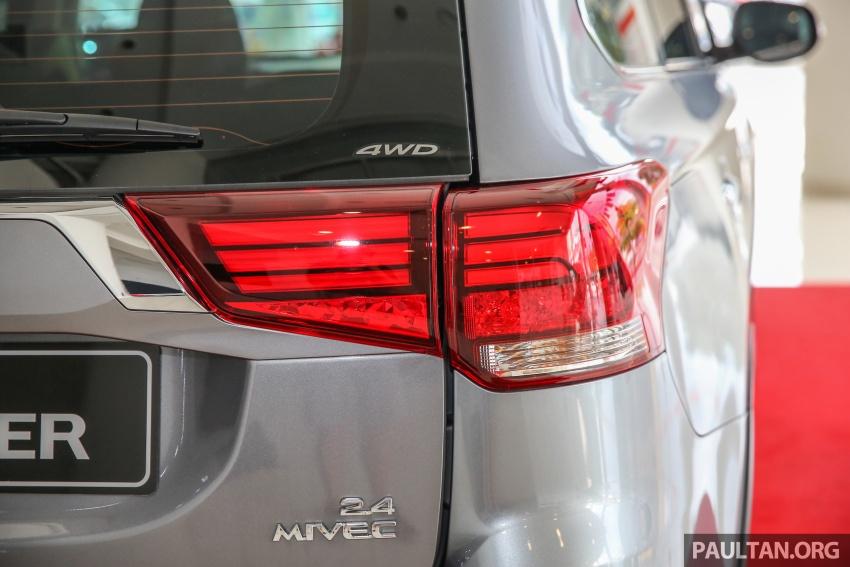 Mitsubishi Motors Malaysia memperkenalkan Outlander 2017 yang dipertingkatkan – RM171k Image #624932
