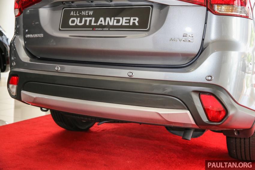 Mitsubishi Motors Malaysia memperkenalkan Outlander 2017 yang dipertingkatkan – RM171k Image #624934