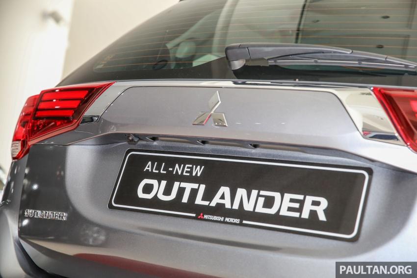 Mitsubishi Motors Malaysia memperkenalkan Outlander 2017 yang dipertingkatkan – RM171k Image #624935