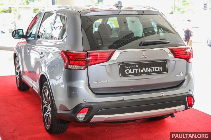 Mitsubishi Motors Malaysia memperkenalkan Outlander 2017 yang dipertingkatkan – RM171k Image #624913