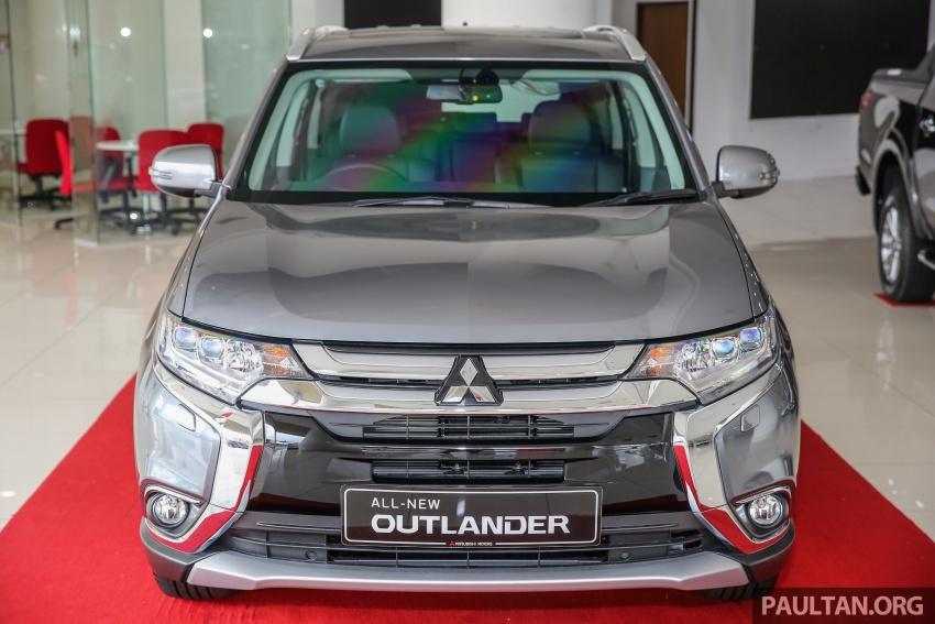 Mitsubishi Motors Malaysia memperkenalkan Outlander 2017 yang dipertingkatkan – RM171k Image #624915