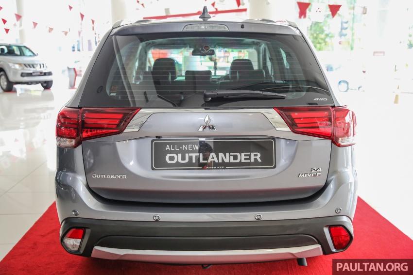 Mitsubishi Motors Malaysia memperkenalkan Outlander 2017 yang dipertingkatkan – RM171k Image #624916