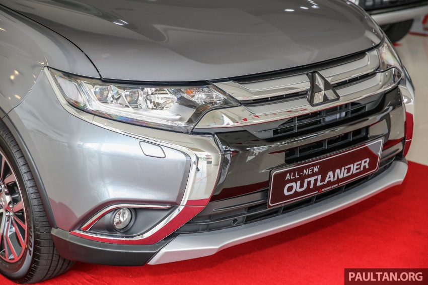 Mitsubishi Motors Malaysia memperkenalkan Outlander 2017 yang dipertingkatkan – RM171k Image #624918