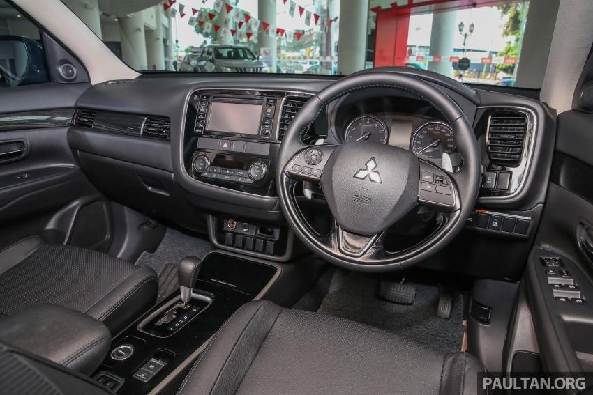 Mitsubishi Motors Malaysia memperkenalkan Outlander 2017 yang dipertingkatkan – RM171k Image #624954