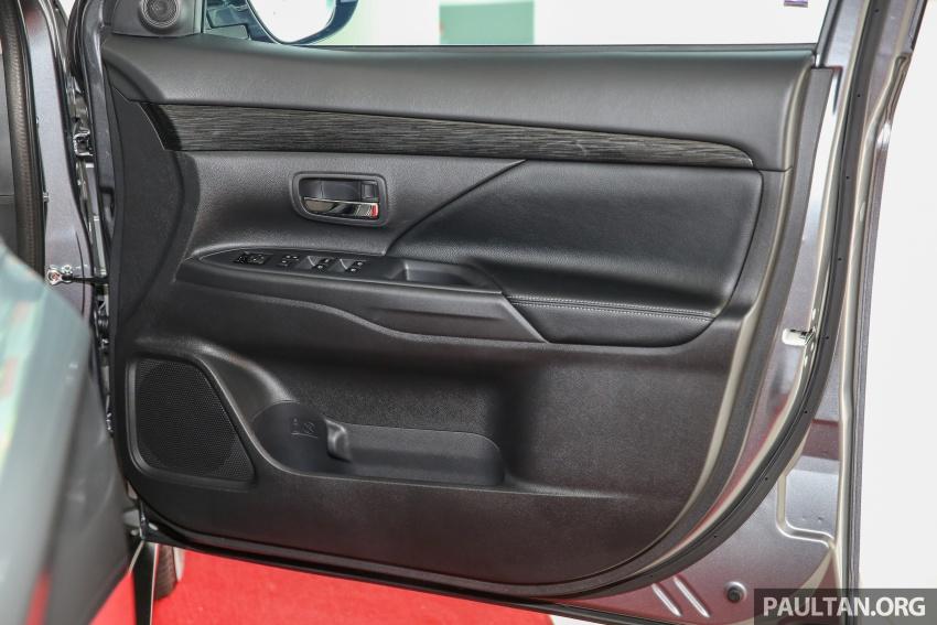 Mitsubishi Motors Malaysia memperkenalkan Outlander 2017 yang dipertingkatkan – RM171k Image #624957