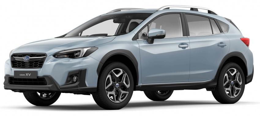 2018 Subaru XV – new looks, better dynamics, safety Image #626119