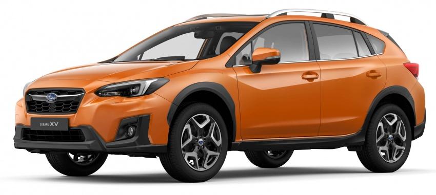 2018 Subaru XV – new looks, better dynamics, safety Image #626122