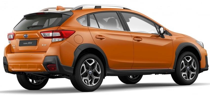 2018 Subaru XV – new looks, better dynamics, safety Image #626123