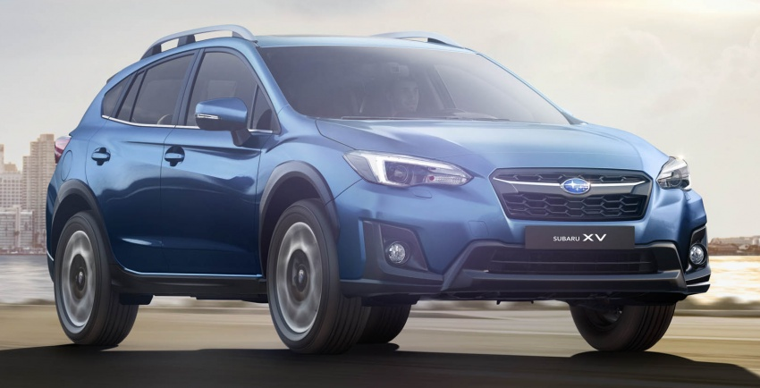 2018 Subaru XV – new looks, better dynamics, safety Image #626133