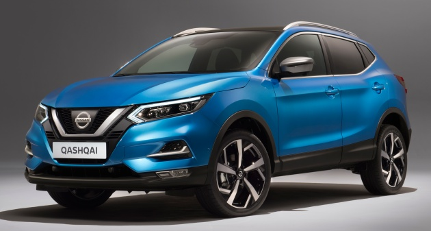 nissan qashqai facelift now with propilot tech. Black Bedroom Furniture Sets. Home Design Ideas