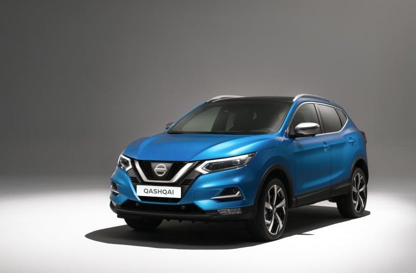 Nissan Qashqai facelift – now with ProPILOT tech Image #627335