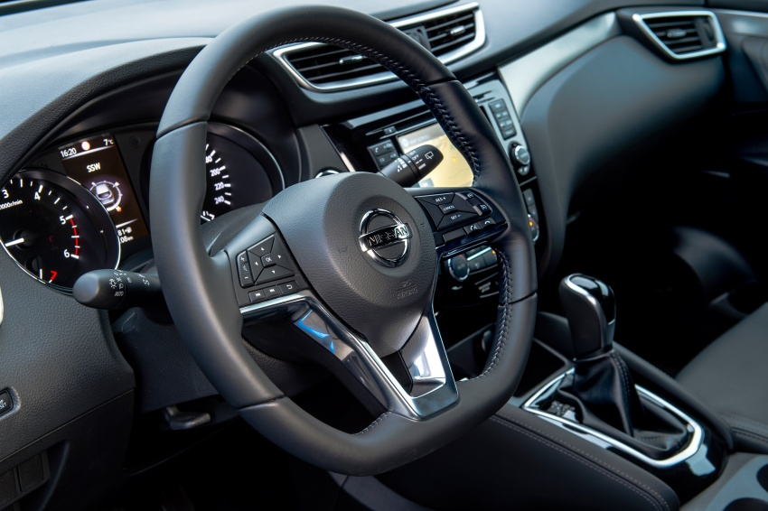 Nissan Qashqai facelift – now with ProPILOT tech Image #627357