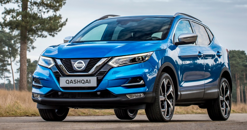 Nissan Qashqai facelift – now with ProPILOT tech Image #627368
