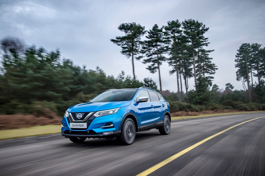 Nissan Qashqai facelift – now with ProPILOT tech Image #627374