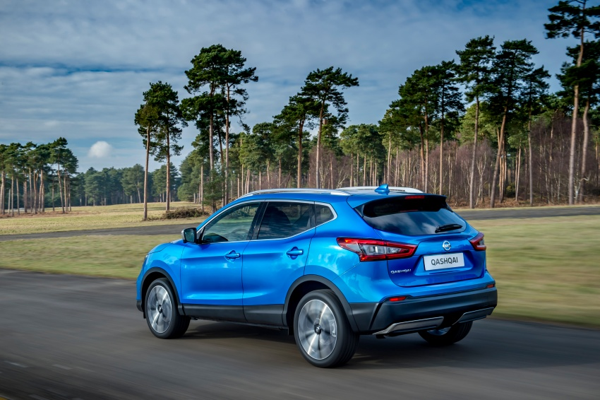Nissan Qashqai facelift – now with ProPILOT tech Image #627382