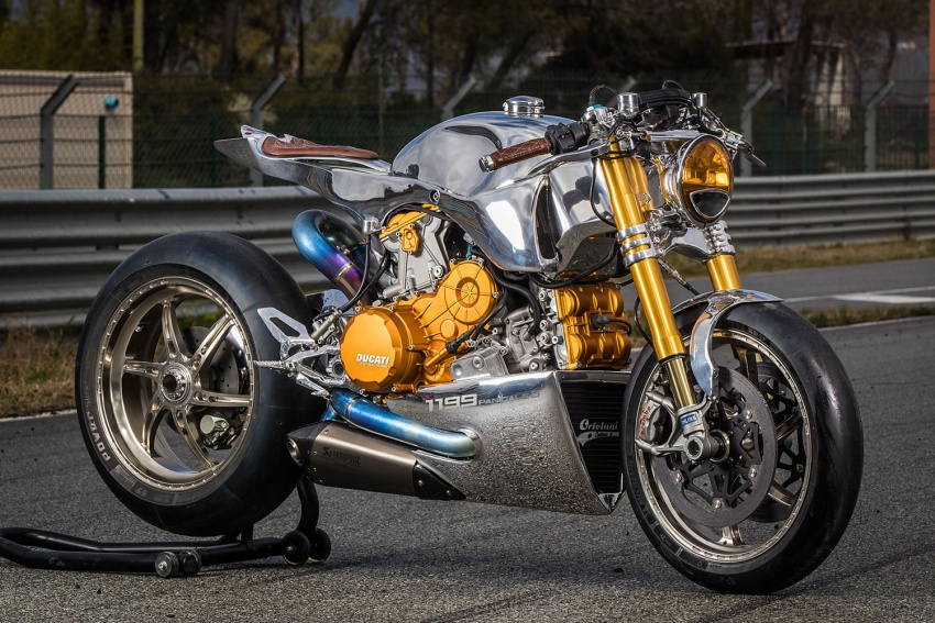Ducati 1199 S Panigale Racer by Ortolani Customs Image #631743