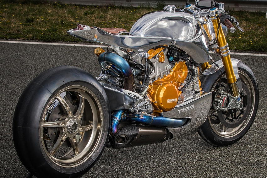 Ducati 1199 S Panigale Racer by Ortolani Customs Image #631744
