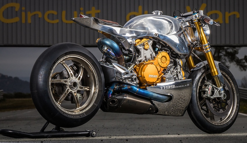 Ducati 1199 S Panigale Racer by Ortolani Customs Image #631747
