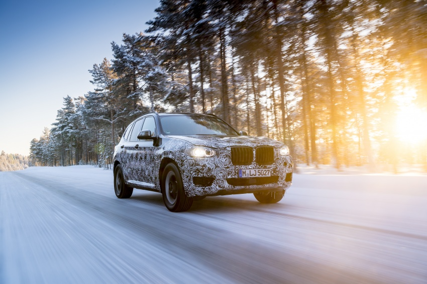 """G01 BMW X3 shown in official """"spy photos"""" – M40i? Image #624493"""