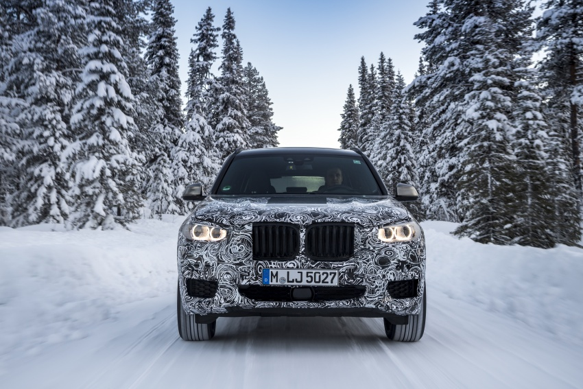 """G01 BMW X3 shown in official """"spy photos"""" – M40i? Image #624497"""