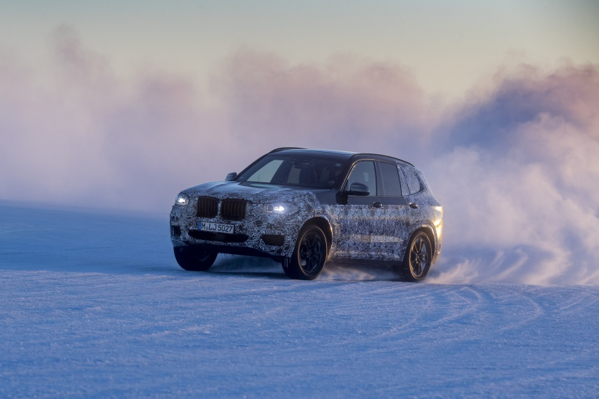 "G01 BMW X3 shown in official ""spy photos"" – M40i? Image #624499"