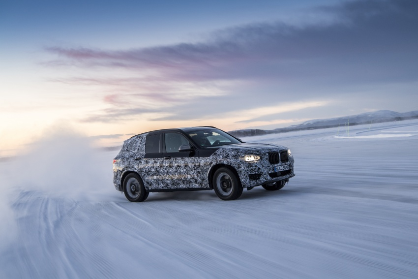 """G01 BMW X3 shown in official """"spy photos"""" – M40i? Image #624501"""