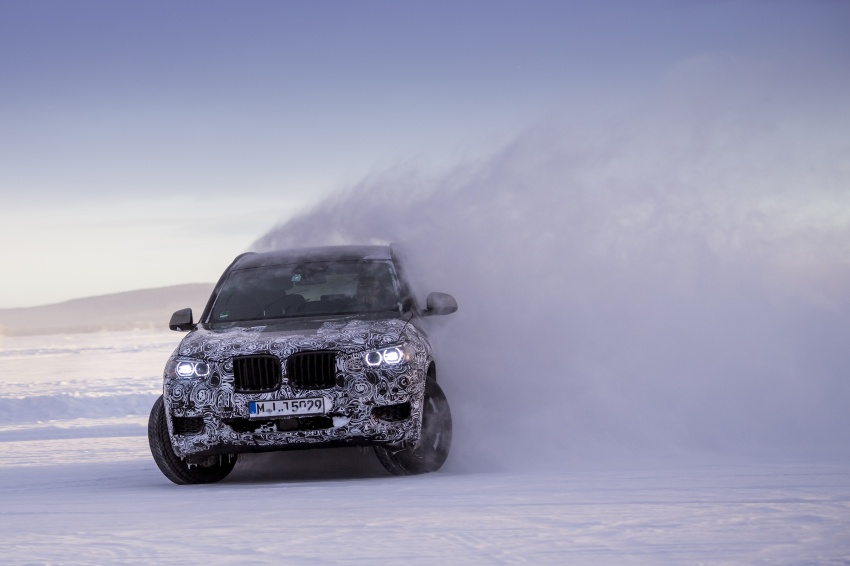 """G01 BMW X3 shown in official """"spy photos"""" – M40i? Image #624503"""
