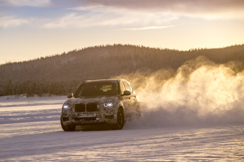"""G01 BMW X3 shown in official """"spy photos"""" – M40i? Image #624506"""
