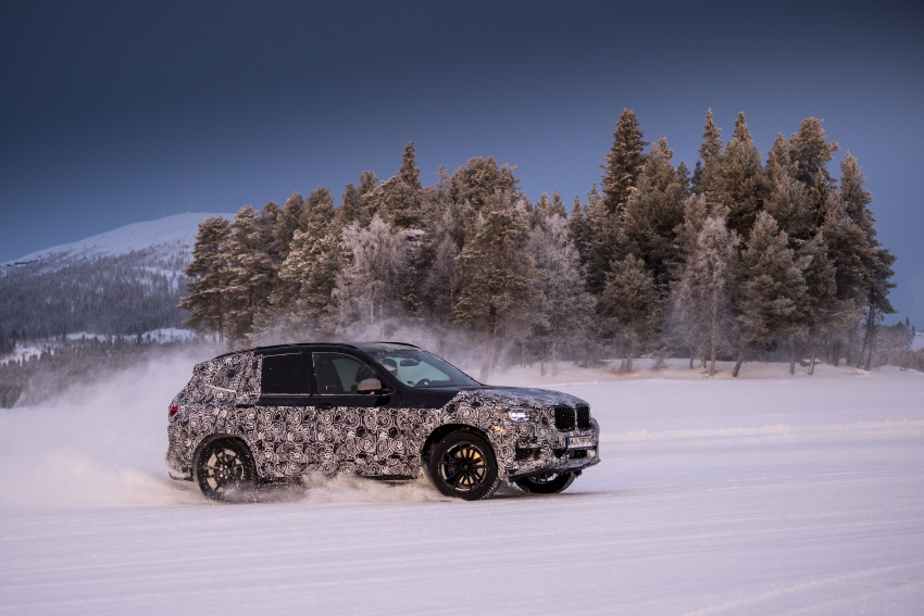 """G01 BMW X3 shown in official """"spy photos"""" – M40i? Image #624507"""
