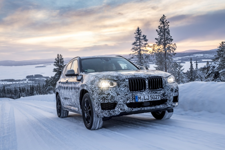 "G01 BMW X3 shown in official ""spy photos"" – M40i? Image #624510"