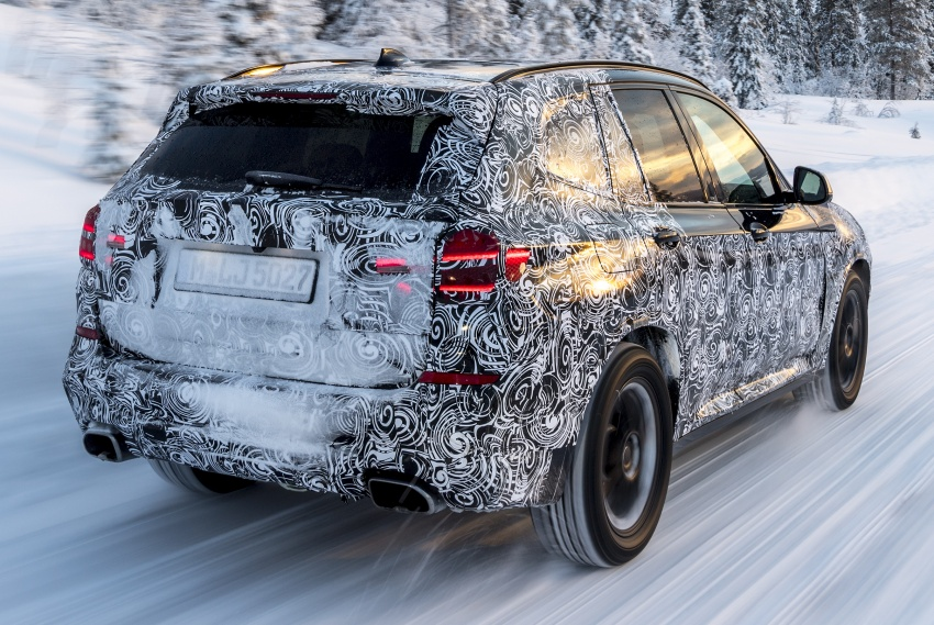 """G01 BMW X3 shown in official """"spy photos"""" – M40i? Image #624515"""